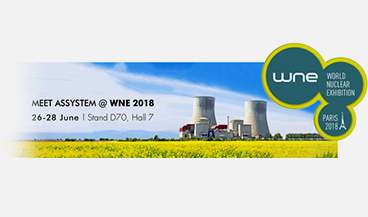 2018 WNE: Assystem major partner of the nuclear sector